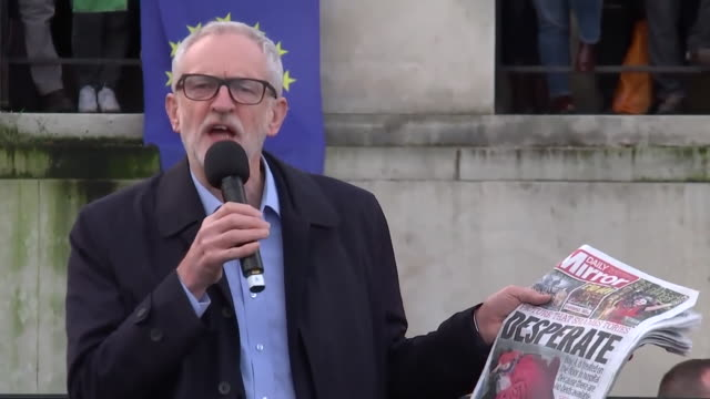 """jeremy corbyn saying """"the tories have had 9 years to fund the nhs properly, it's time to bring their regime to an end"""" - 8 9 years stock videos & royalty-free footage"""