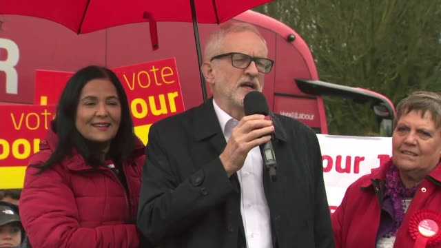 jeremy corbyn saying thursday night you can get a government you can trust - transparent stock videos & royalty-free footage