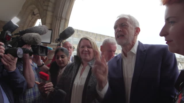 Jeremy Corbyn saying write Labour off at your peril after success in the Peterborough byelection