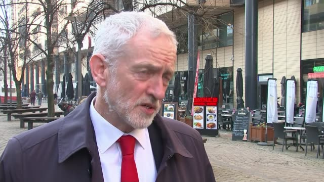 jeremy corbyn says shamima begum has right to return to uk belgium brussels ext jeremy corbyn mp interview sot [re shamima begum] she obviously has... - jeremy corbyn stock videos and b-roll footage