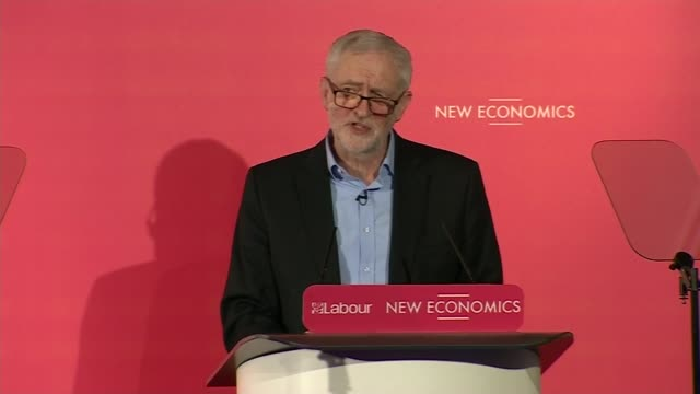 london int jeremy corbyn mp speech sot thanks to staff in connaught rooms things don't happen in society without a whole team/ thanks to shadow... - asking stock videos & royalty-free footage