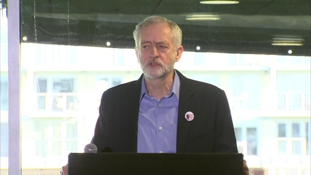 jeremy corbyn speech to labour party south west regional conference england avon bristol int introduction / jeremy corbyn mp speech covering... - isis stock videos and b-roll footage