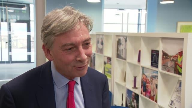 Jeremy Corbyn visits Selkirk Richard Leonard MSP interview SOT
