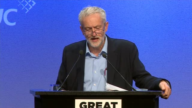 Jeremy Corbyn's first speech as Labour leader Address to TUC conference The reduction in the benefit cap has the effect of socially cleansing many...