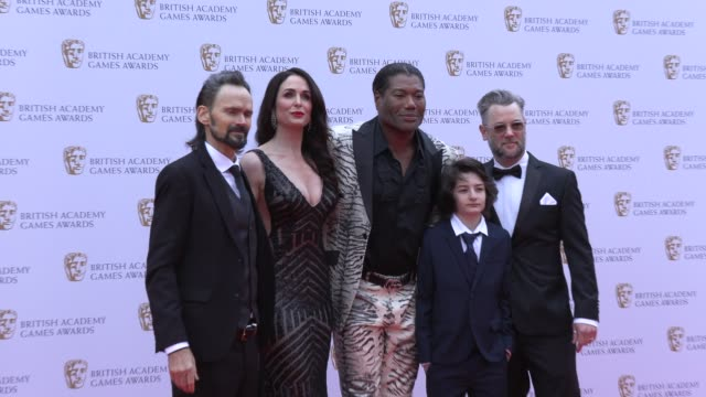 jeremy davies danielle bisutti christopher judge sunny suljic cory barlog on april 04 2019 in london united kingdom - british academy television awards stock videos & royalty-free footage