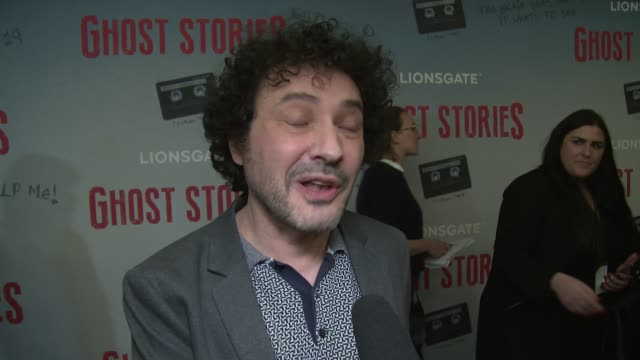 jeremy dyson on taking it from the stage inspirational movies and working with martin freeman at vue west end on march 27 2018 in london england - martin freeman stock videos and b-roll footage