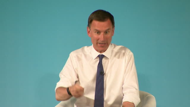 jeremy hunt conservative leadership contender at bournemouth husting about tuition fees if you go out and set up a successful business and employee... - incentive stock videos & royalty-free footage