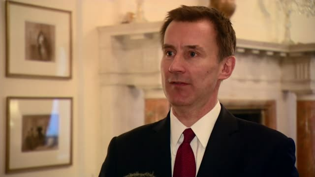 Jeremy Hunt interview on political situation in Venezuela ENGLAND London INT Jeremy Hunt MP interview SOT Extremely concerned about situation in...