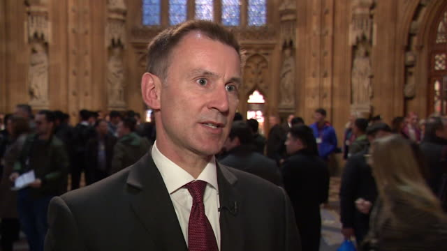 Jeremy Hunt saying he believed the Matthew Hedges case would be resolved in a 'satisfactory way' after discussions with UAE Crown Prince Mohammed bin...
