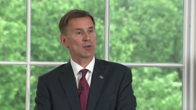 Jeremy Hunt saying he had conversations with Angela Merkel and Emmanuel Macron and there is a willingness to engage in further Brexit talks