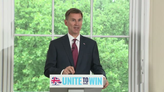 Jeremy Hunt saying he still believes there is a deal to be done with the EU as he launches his leadership campaign
