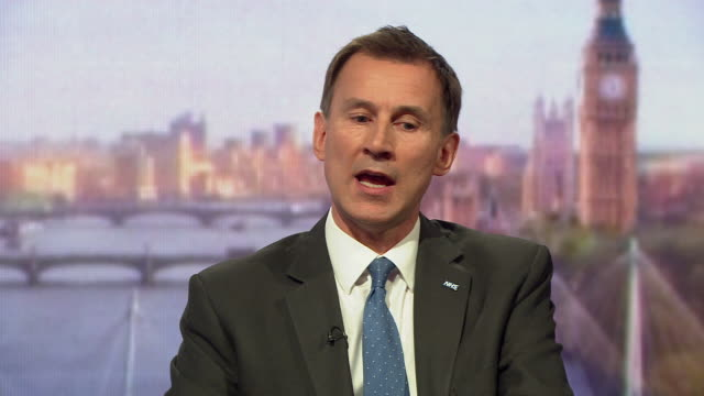 jeremy hunt saying he wants to stop situations where people with severe mental health problems are placed in police cells rather than receive... - mental health professional stock videos and b-roll footage