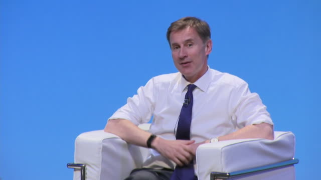 Jeremy Hunt saying it is possible to be very polite and very tough at the Conservative leadership hustings in Birmingham