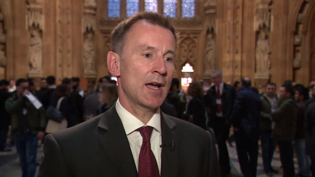 Jeremy Hunt saying the UK government have given 'repeated assurances' to the UAE that Matthew Hedges was not a British spy and that there will be...