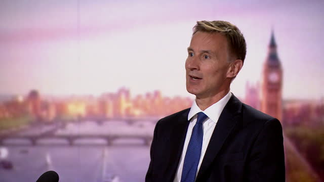 jeremy hunt saying there needs to be freedom for government ministers to talk in private without conversations being leaked - leaking stock videos & royalty-free footage