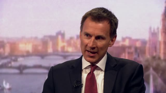 jeremy hunt talking about the nazanin zaghariratcliffe case and the decision to grant her diplomatic protection - nazanin zaghari ratcliffe video stock e b–roll