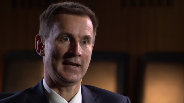 Jeremy Hunt the Health Secretary says 'I want to apologise [to patients] for the fact that we have had to postpone a number of operations' but that...