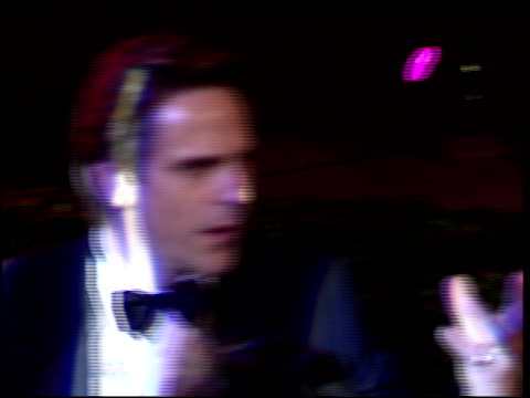 jeremy irons at the 1996 academy awards vanity fair party at morton's in west hollywood california on march 25 1996 - 68th annual academy awards stock videos and b-roll footage
