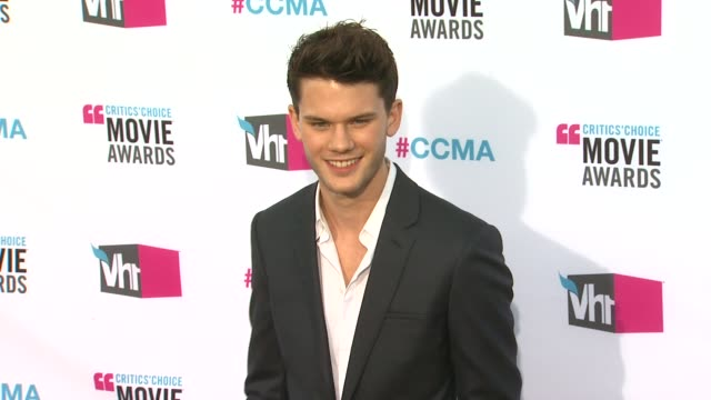 Jeremy Irvine at 17th Annual Critics' Choice Movie Awards on 1/12/12 in Hollywood CA