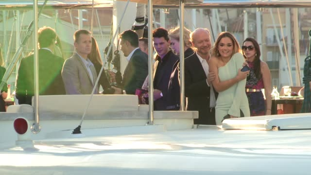 jeremy irvine; nicole kidman at celebrity sighting on may 17, 2013 in cannes, france - mariella frostrup stock videos & royalty-free footage