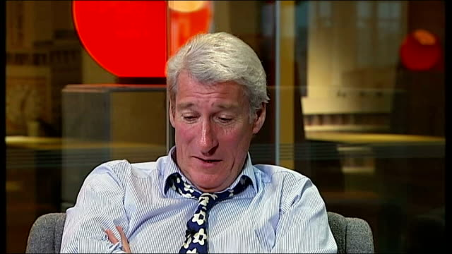 jeremy paxman song and interview jeremy paxman interview sot - jeremy paxman stock videos & royalty-free footage