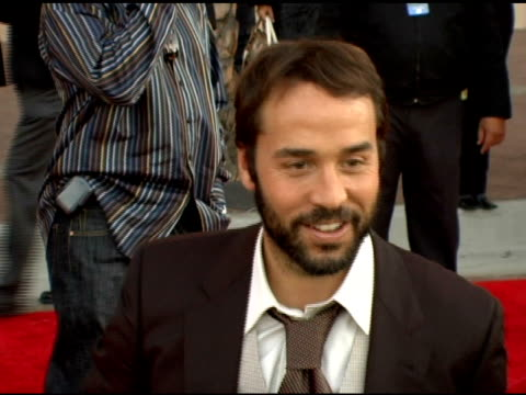 jeremy piven at the 2005 american music awards arrivals at the shrine auditorium in los angeles, california on november 22, 2005. - jeremy piven stock videos & royalty-free footage