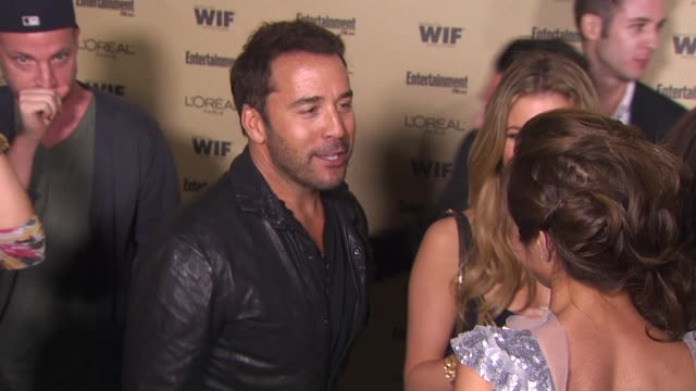 jeremy piven at the entertainment weekly and women in film pre-emmy party at west hollywood ca. - pre emmy party stock videos & royalty-free footage