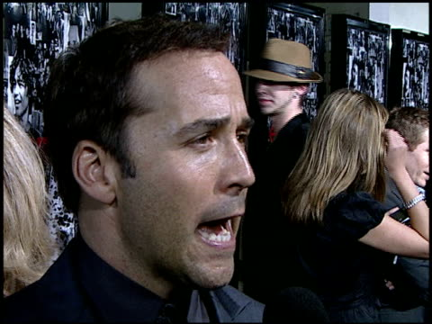 jeremy piven at the 'entourage' premiere at the cinerama dome at arclight cinemas in hollywood, california on april 5, 2007. - jeremy piven stock videos & royalty-free footage