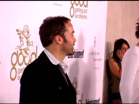 jeremy piven at the kanye west good music party at the lot in hollywood, california on february 8, 2006. - jeremy piven stock videos & royalty-free footage