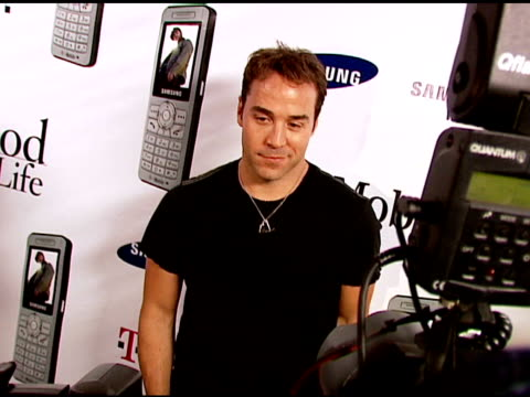 jeremy piven at the 'now and thin in hollywood' at cabanna club in hollywood, california on june 2, 2006. - jeremy piven stock videos & royalty-free footage