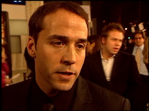 jeremy piven at the 'runaway jury' premiere at the cinerama dome at arclight cinemas in hollywood, california on october 9, 2003. - jeremy piven stock videos & royalty-free footage