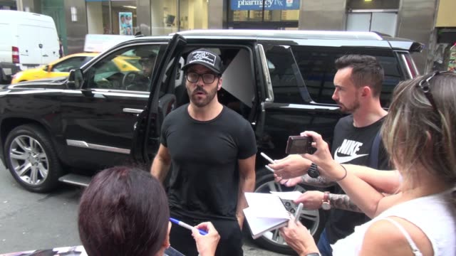 jeremy piven at the 'today' show in celebrity sightings in new york, - jeremy piven stock videos & royalty-free footage