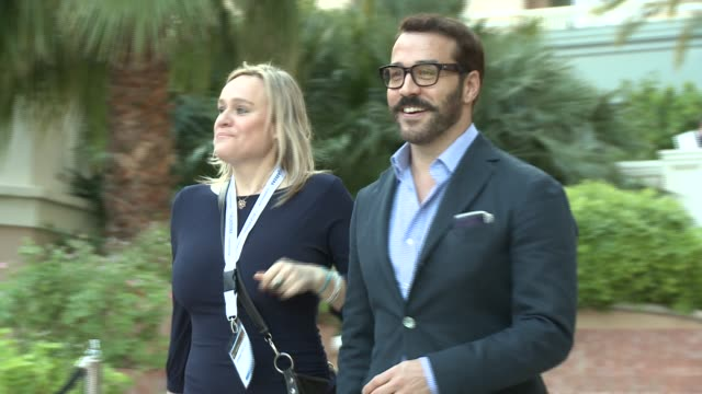 jeremy piven at 'the young and the restless' 40th anniversary party at the 53rd monte-carlo television festival - day 1 in monte-carlo, monaco, on... - jeremy piven stock videos & royalty-free footage