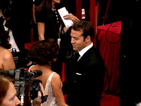 jeremy piven, eva longoria parker at the 14th annual screen actors guild awards at los angeles ca. - jeremy piven stock videos & royalty-free footage