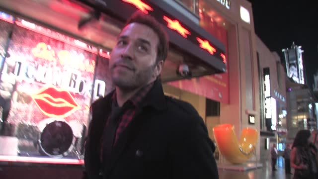 jeremy piven in hollywood at the celebrity sightings in los angeles at los angeles ca. - jeremy piven stock videos & royalty-free footage