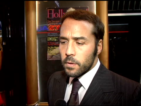 jeremy piven on the fact that he's been breaking through for many years his personal breakthroughs are that he is ready to play the lead man the film... - terrence howard stock videos and b-roll footage