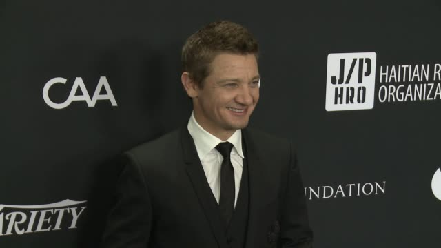 Jeremy Renner at 6th Annual Sean Penn Friends HAITI RISING Gala Benefiting J/P Haitian Relief Organization at Montage Beverly Hills on January 7 2017...