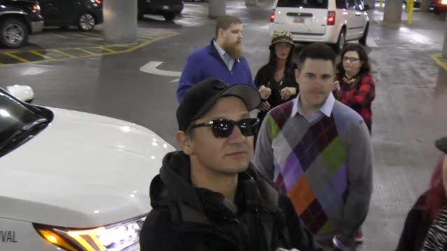 Jeremy Renner at Salt Lake City International Airport at Celebrity Sightings in Park City UT on January 20 2017