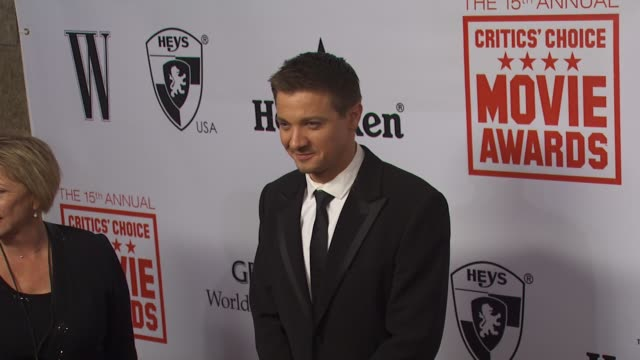 Jeremy Renner at the 15th Annual Critics' Choice Movie Awards AfterParty at Hollywood CA