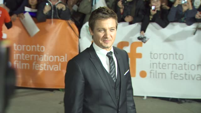 Jeremy Renner at the 2010 Toronto International Film Festival � 'The Town' Screening at Toronto ON