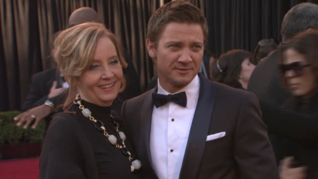 Jeremy Renner at the 83rd Annual Academy Awards Arrivals Pool Cam at Hollywood CA