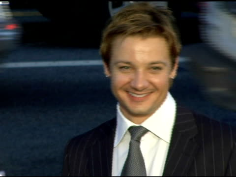 Jeremy Renner at the 'North Country' Los Angeles Premiere at Grauman's Chinese Theatre in Hollywood California on October 10 2005