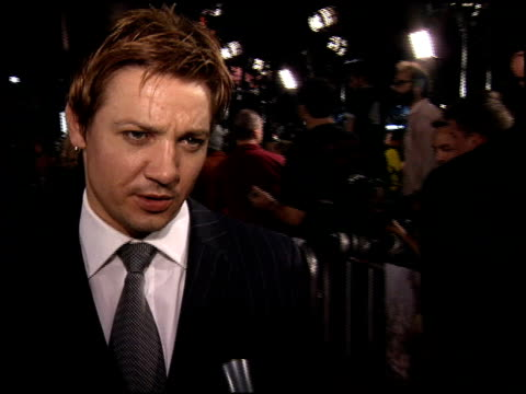 jeremy renner at the North Country Premiere at Grauman's Chinese Theatre in Hollywood California on October 10 2005