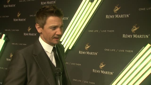 INTERVIEW Jeremy Renner is excited to be celebrating the campaign shares why he decided to partner with Remy Martin Talks about his many talents of...