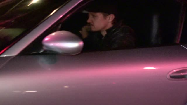 Jeremy Renner leaving Chateau Marmont in West Hollywood 05/19/12