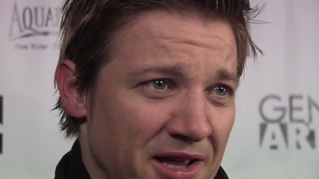 jeremy renner on sundance and his film being in indie films the beauty of sundance being a fan of the beastie boys and his upcoming film the... - 2006 stock videos & royalty-free footage