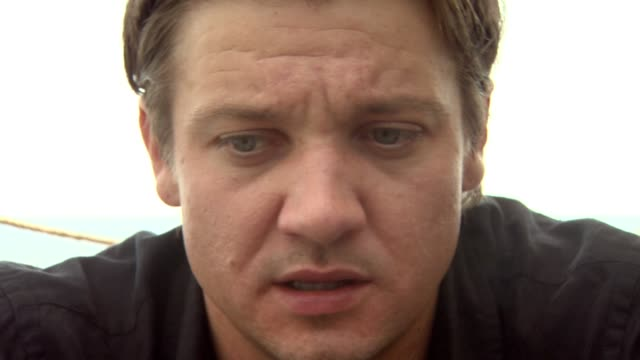 Jeremy Renner on what the locals thought about them shooting on location at the 65th Venice Film Festival 'The Hurt Locker' Interviews at Venice