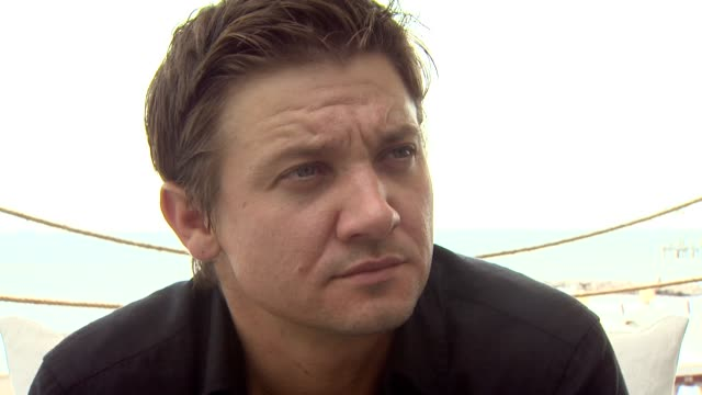 Jeremy Renner on working with Kathryn Bigelow at the 65th Venice Film Festival 'The Hurt Locker' Interviews at Venice