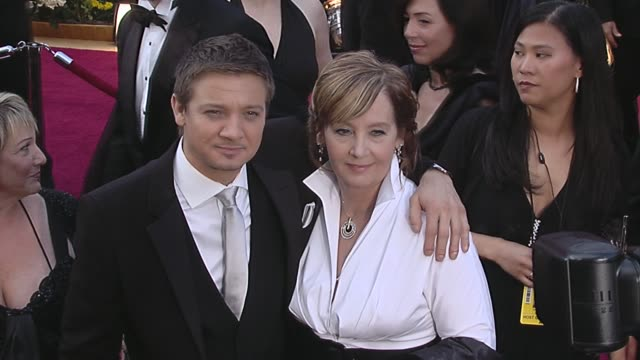 Jeremy Renner Valerie Cearley at the 82nd Annual Academy Awards Arrivals Part 2 at Los Angeles CA