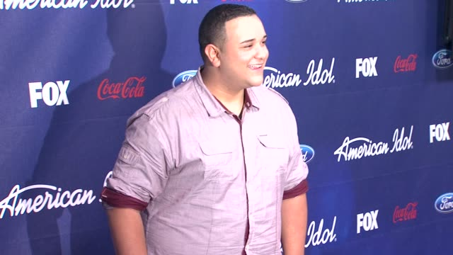 jeremy rosado at meet the american idol judges finalists on 3/1/2012 in los angeles ca - american idol stock videos and b-roll footage
